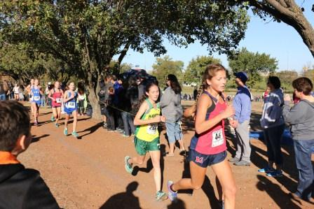 Cross country runner prepares to compete at prestigious meet