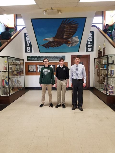 Two HCP seniors qualify for Academic All State