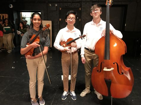 Students earn spots in regional honor orchestra