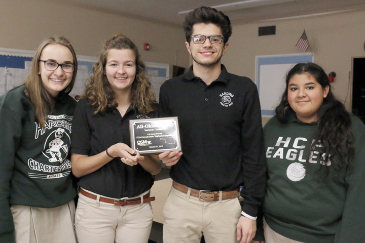 Yearbook staff wins top award at annual contest