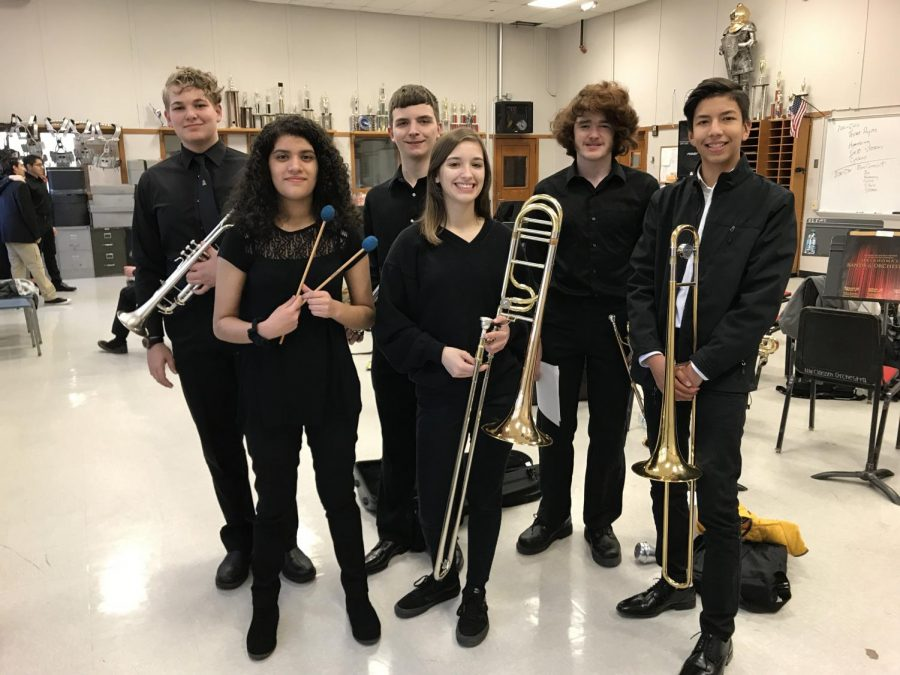 Band students join forces for local honor band