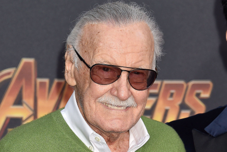 Mandatory Credit: Photo by Broadimage/REX/Shutterstock (9641461cd) Stan Lee 'Avengers: Infinity War' film premiere, Arrivals, Los Angeles, USA - 23 Apr 2018 Premiere Of Disney And Marvel's 'Avengers: Infinity War' - Arrivals