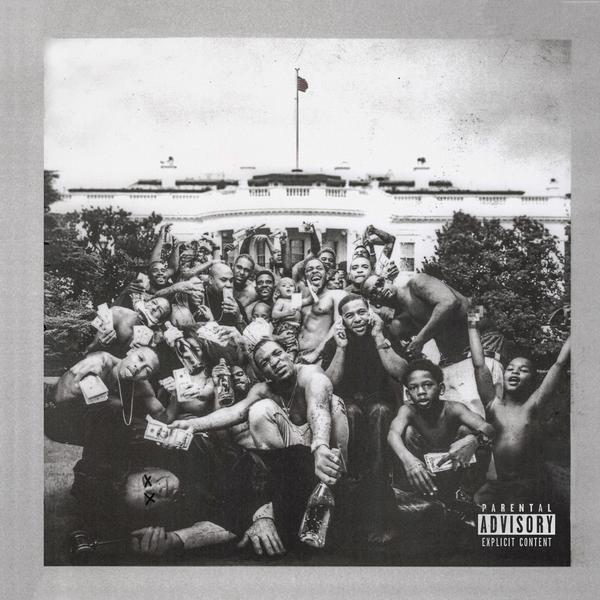 The album art for Lamar's third album, 2015's
