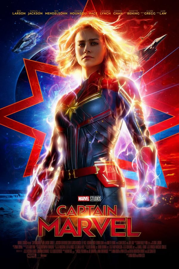 'Captain Marvel' soars to the top of box office