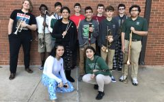 Twelve students earn spots in local honor band