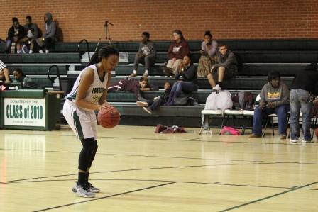 Basketball losing streak ends