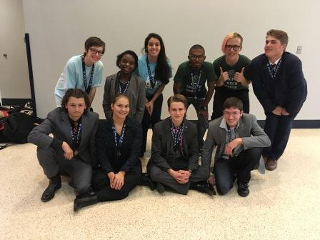 Students in HCP speech and debate advance to state