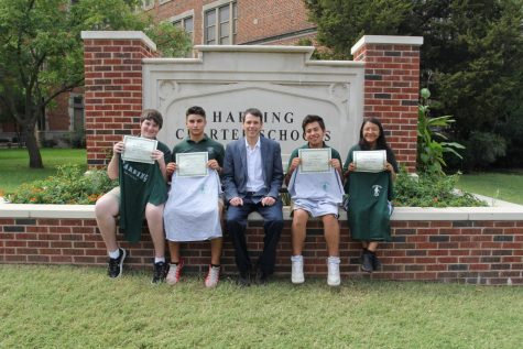 Harding Charter students recognized by National Merit program